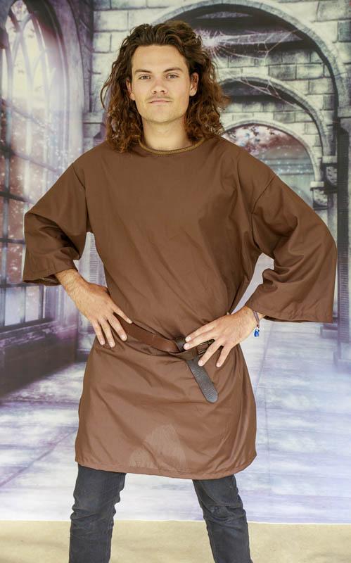 Medieval serf, peasant costume, peasant tunic